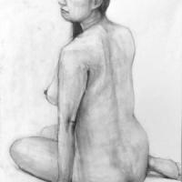 人物デッサン(裸婦ヌード)