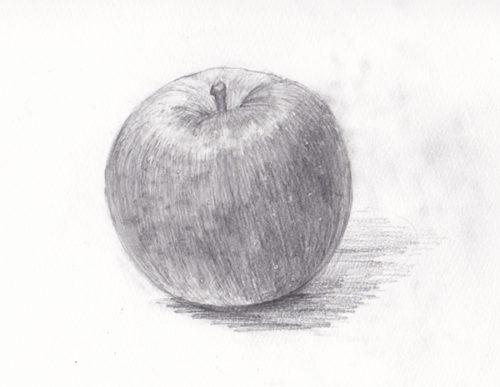 添削092:りんごのデッサン