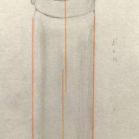 水筒のデッサン