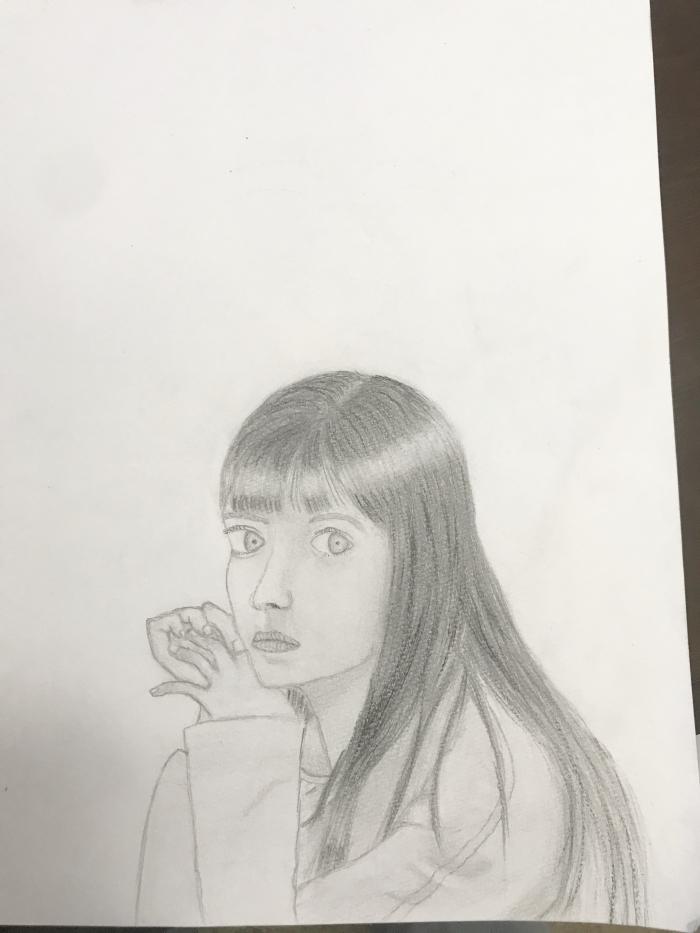 少女のデッサン